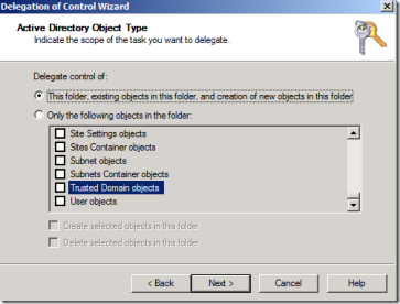 Delegate permissions for creating GPO objects in other